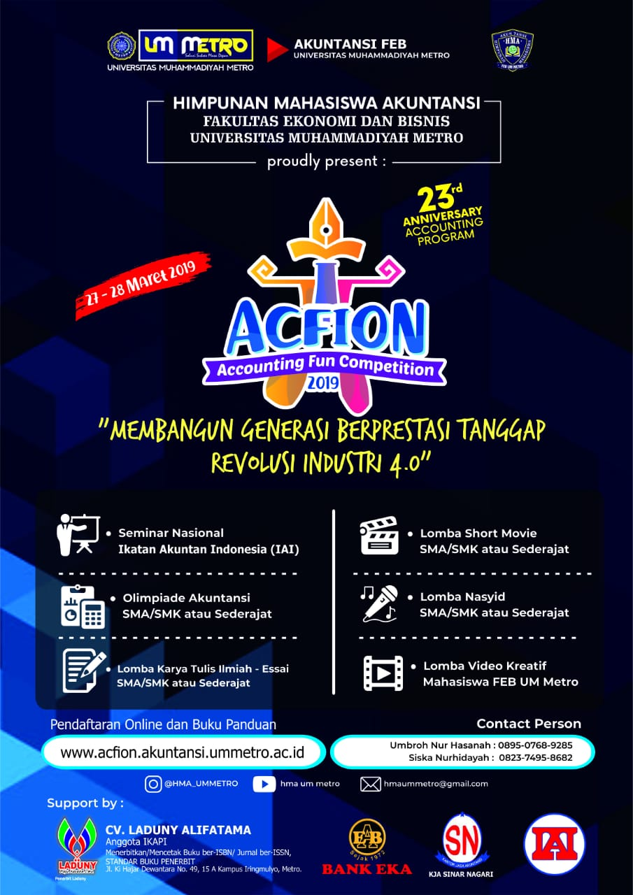 Accounting Fun Competition 2019