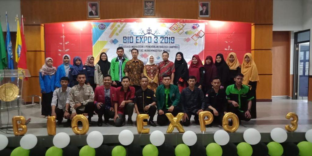 Ketua DPRD Metro Ikut Sukseskan Bio Expo 3 Ampibi UM Metro
