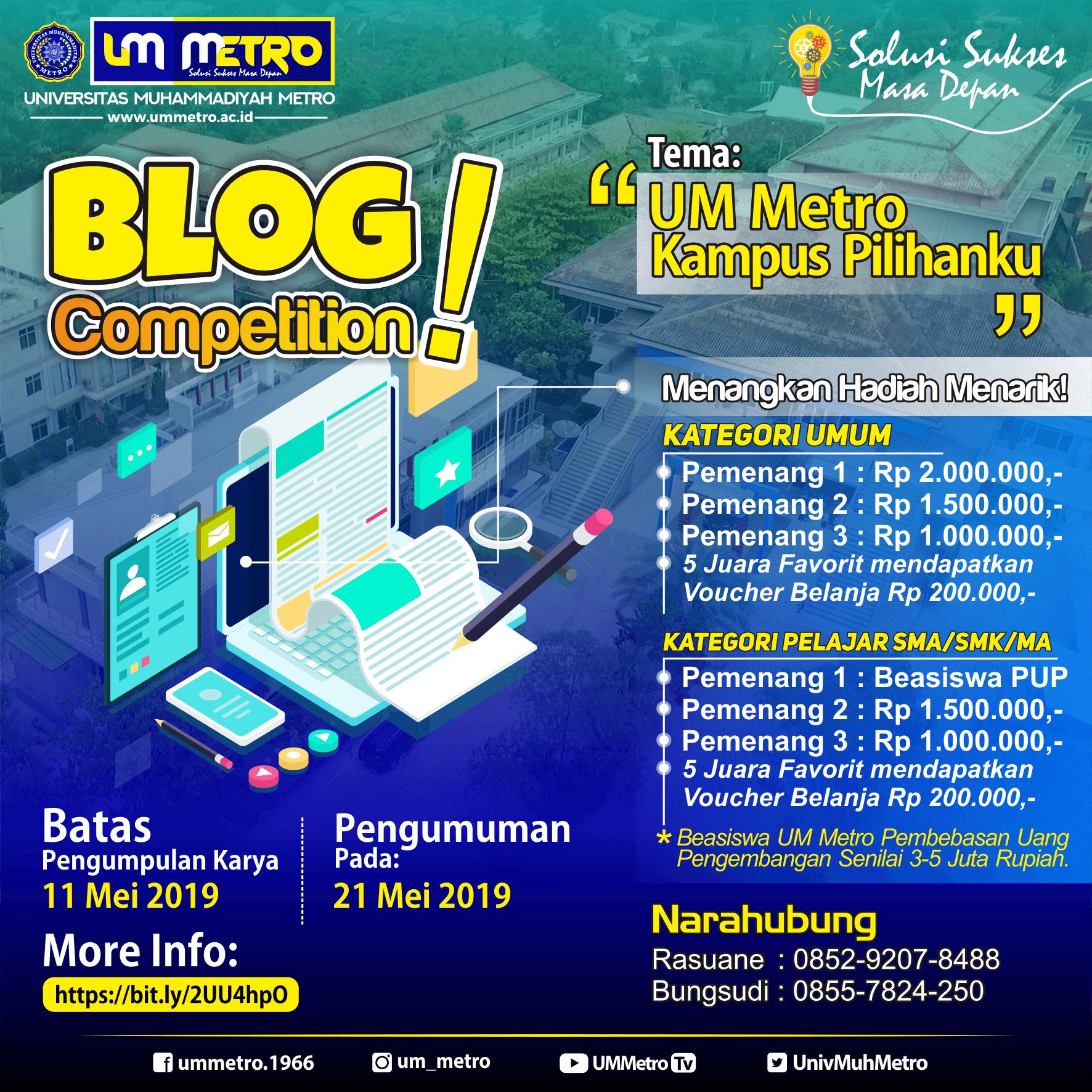 UM Metro Blog Competition 2019