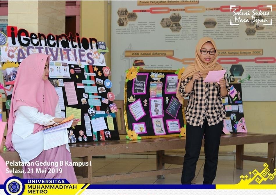 Wall Magazine, Cara Dosen PBI UM Metro Asah Kreatifitas Mahasiswa