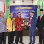 Rektor UM Metro Teken Nota Kerjasama dengan UKM dan Perguruan Tinggi di Lampung