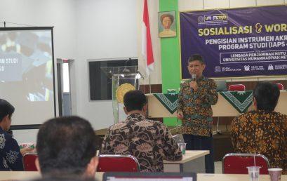 Lembaga Penjamin Mutu UM Metro Sosialisasikan IAPS 4.0