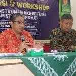Rektor UM Metro Sampaikan Arahan Sosialisasi IAPS 4.0