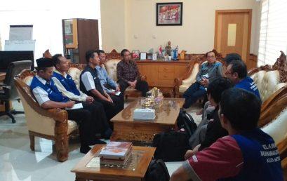 Rektor UM Metro bahas Program Mitigasi Bencana dengan MDMC Kota Metro
