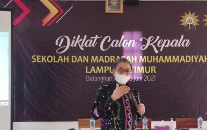 Rektor UM Metro Isi Materi Diklat Calon Kepala Sekolah Muhammadiyah