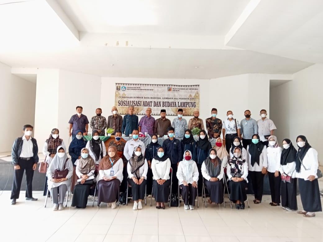 Himas UM Metro Hadiri SosialisasiAdat Budaya Lampung