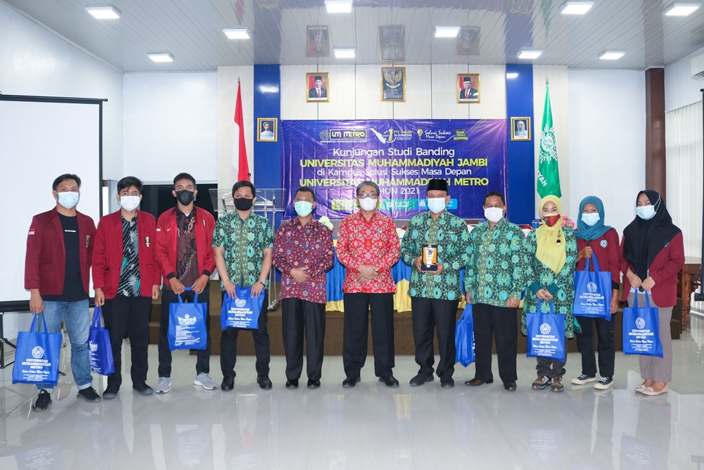 UM Metro Terima Kunjungan Studi Banding UM Jambi Bahas Pengelolaan Kemahasiswaan