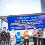 Rektor UM Metro Serahkan Mesin Pencacah Sampah dan Pupuk Pumakkal bagi Ponpes Tahfidz Qu'an Darul Iman Natar