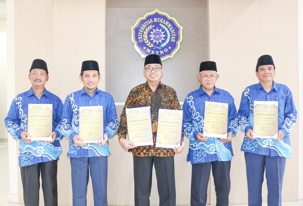 UM Metro Sabet 6 Penghargaan dari LLDIKTI Wilayah II