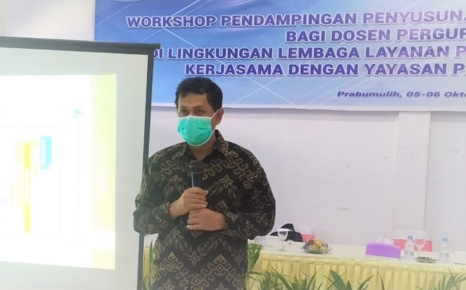 Dr. Achyani Beri Pendampingan Penyusunan Proposal Penelitian di STIE-STMIK-STIT Prabumulih
